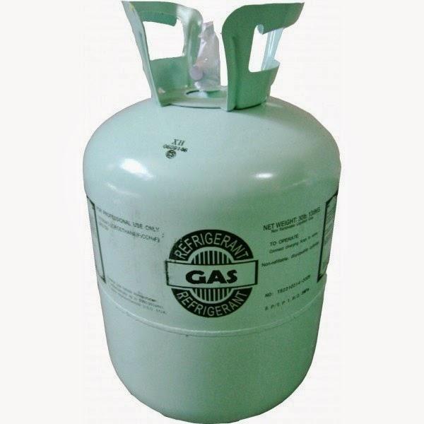 como cargar un aire acondicionado con gas refrigerante 22