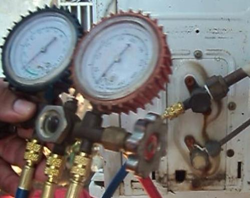 Como medir el gas refrigerante for Cargar aire acondicionado casa