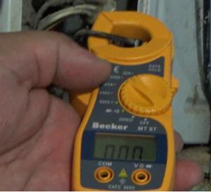 Cargar refrigerante por consumo eléctrico o amperaje
